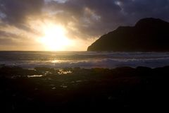 Ciel d'Oahu photographie stock libre de droits