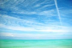 ciel d'océan Photographie stock libre de droits