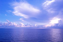 ciel d'océan Images libres de droits