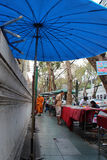 Ciel d'ombrelle Bangkok, Thaïlande (-) Obrazy Royalty Free