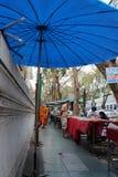 Ciel d'ombrelle (Bangkok - Thaïlande) Royalty Free Stock Images