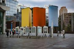 Ciel d'Umeda construisant Osaka Japan images libres de droits