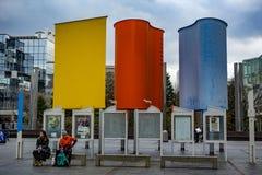 Ciel d'Umeda construisant Osaka Japan photos libres de droits