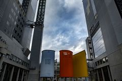 Ciel d'Umeda construisant Osaka Japan images stock