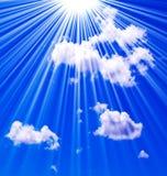 Ciel dans le ciel Photos libres de droits