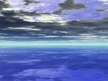 ciel de bachground image stock