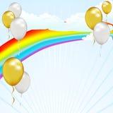 Ciel de ballon Image libre de droits