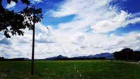 Ciel de bleus 2 Photographie stock libre de droits