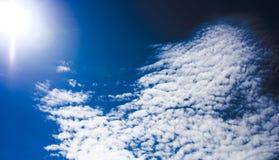 Ciel de ciel Photographie stock