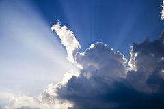 Ciel de ciel Image libre de droits