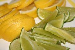 Ciel de citron de chaux images libres de droits