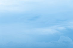 Ciel de Cloudscape et nuageux bleus photographie stock libre de droits