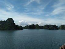 Ciel de colline du Vietnam Image libre de droits
