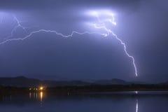Ciel de courber électrique Image libre de droits