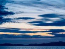 Ciel de Cumbria Image libre de droits