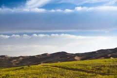Ciel de désert Image libre de droits
