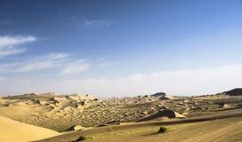 Ciel de désert Photos stock