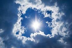 ciel de fond Photos libres de droits