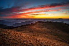 Ciel de gradient Image stock