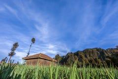 Ciel de hutte Image libre de droits