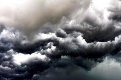 Ciel de jour de tempête de Cloudly Photo libre de droits