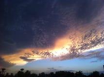 Ciel de l'Arizona Photographie stock