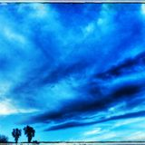 Ciel de la Californie Photographie stock