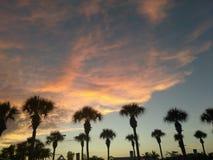 Ciel de la Floride en été Photos stock