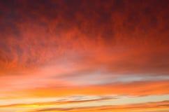 Ciel de matin Image libre de droits