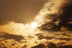 Ciel de matin Image stock