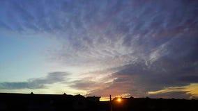 Ciel de matin Photographie stock