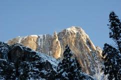 Ciel de matin de point de Milou Yosemite images stock
