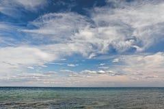 Ciel de mer Images libres de droits