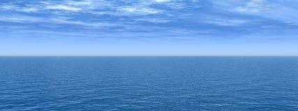 Ciel de mer Photographie stock