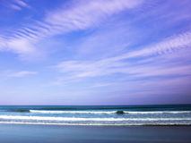 ciel de mer de 4 sables Photos libres de droits