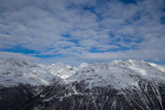 Ciel de montagne Photos libres de droits