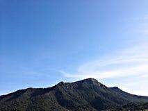 Ciel de montagne Image stock
