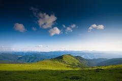 Ciel de montagnes Photos libres de droits