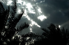 Ciel de Mystirious Images libres de droits