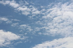 Ciel de nuage Photo stock
