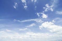 Ciel de nuage Photographie stock