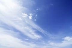 Ciel de nuage Images libres de droits