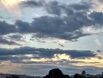 Ciel de nuage Photos stock