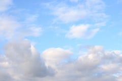 Ciel de nuage par jour Photos stock