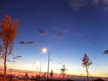 Ciel de nuit Photo libre de droits