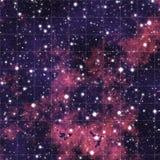 Ciel de nuit avec des étoiles illustration libre de droits