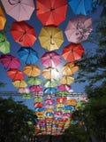 Ciel de parapluie en Coral Gables, la Floride photo libre de droits