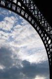 Ciel de Paris Image libre de droits
