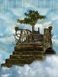 ciel de passerelle Image libre de droits