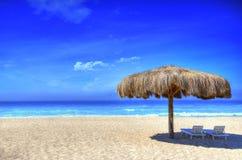 Ciel de plage photographie stock libre de droits